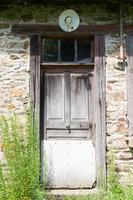 Tür bewohnbares Haus foto
