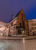 St. Barbara Kirche in Krakau foto