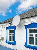 Antenne auf Bauernhaus