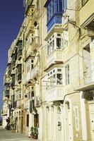 typische Fenster in Valletta-Malta