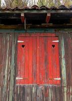 rustikale Shutter-Irugurutzeta foto