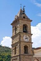 Mutterkirche. Valsinni. Basilikata. Italien. foto