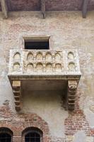 Balkon von Romeo und Julia foto