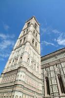 Santa Maria del Fiore Kirchturm in Florenz