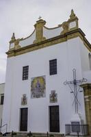 klassische Kirche in Gallipoli, Lecce. foto