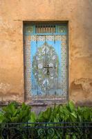 alte marokkanische Tür foto