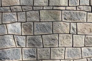 Steinmauer Fassade foto