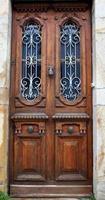 Vintage Tür-Sare-Frankreich foto