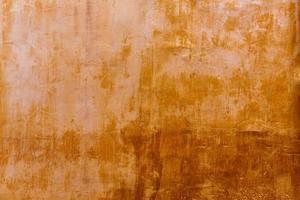 Menorca Ciutadella goldene Grunge Ocker Fassade Textur foto