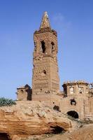 Belchitendorf während des spanischen Bürgerkriegs zerstört foto