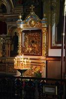 Saint Nicholas Kirche. Alexander Nevsky Kathedrale foto