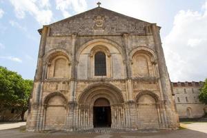 romanische Fassade foto