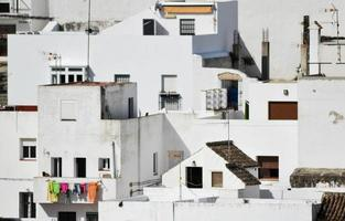 Gebäudefassade. foto