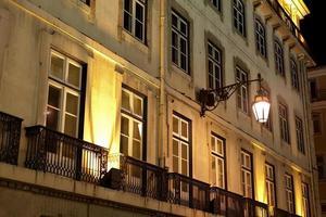 Fassade von Lissabon foto