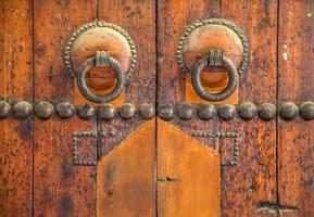 marokkanische Tür foto
