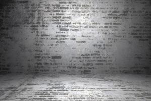 Vintage Backsteinmauer Hintergrund und Texturen foto