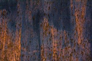 detaillierte Struktur aus rostigem Metall foto