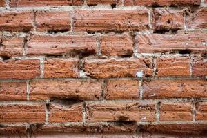 Hintergrund der Backsteinmauer Textur foto