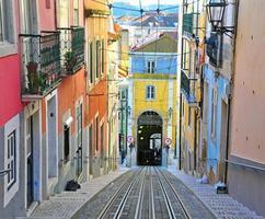 Lissabon Standseilbahn Bica foto