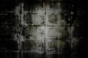 alte Schmutzwandbeschaffenheit mit Vignette foto