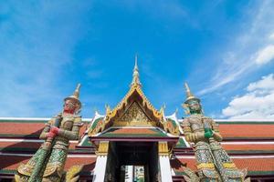 Riese in Wat Phra Kaew foto
