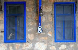 blaue Fenster-ucagiz foto