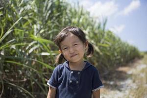 Mädchen lächelt foto