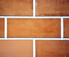 Ziegel Nahaufnahme. Bild kann als Hintergrund verwendet werden foto