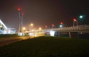 Schrägseilbrücke foto