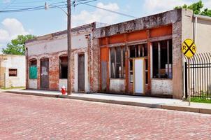 Historisches Gebiet in der Innenstadt von Tyler, Texas foto