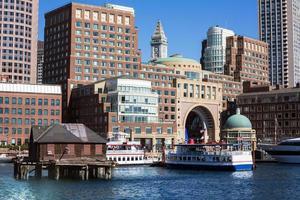 Boston Rowes Wharf in Massachusetts foto