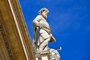 Statue im Vatikan foto