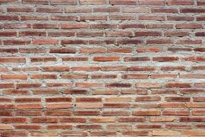 alte rote Backsteinmauer foto