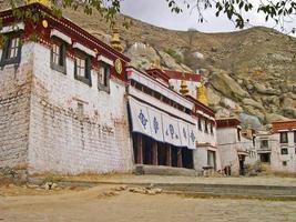 lhasa, tibet, sera kloster foto