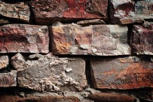 Ziegelmauer foto