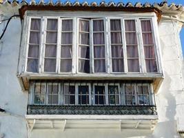 geschlossener Balkon foto