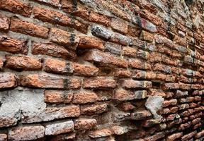 rissiger Beton Vintage Backsteinmauer Hintergrund