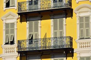 Fenster und Balkone, schön foto