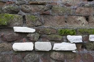 sechs weiße Steine foto