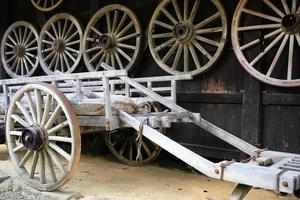 rustikaler Wagen foto