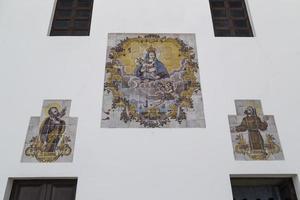 Gemälde auf der Kirche la puritate in Gallipoli (le)