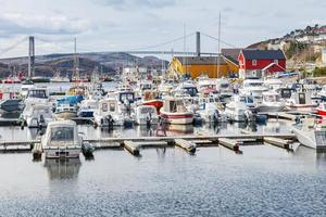 Rorvik, kleines norwegisches Fischerdorf
