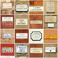 italienischer abstrakter Hintergrund