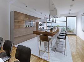 Küche High-Tech-Stil foto