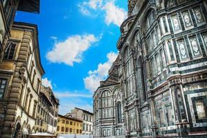 Piazza Duomo in Florenz foto
