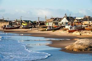 Strand von Punta del Diablo, Küste Uruguays