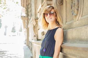 Städtisches Mädchen foto