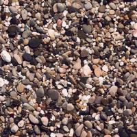 runde Peeble Steine