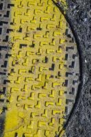 Textur und Farbe Boden foto