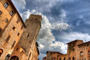 dramatischer San Gimignano